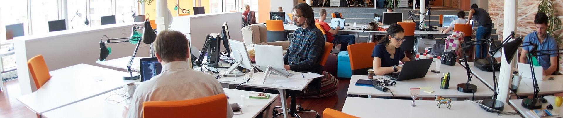 Werken op kantoor